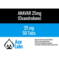 Anavar by AceLabs 25mg x 50 Tabs