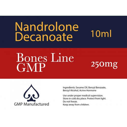 Nandrolone Phenylpropionate NPP GMP Bones Line 100mg 10ml