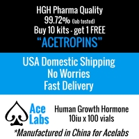 HGH -Acetropin- Pharma Quality 99.72 Purity - Buy 10 Kits, Get 1 Kit Free