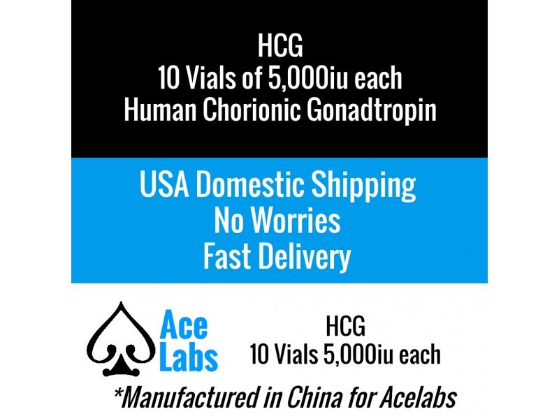 HCG (Human Chorionic Gonadotropin) 10 x 5,000iu Vials