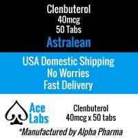 Clenbuterol (Astralean) 40mcg - 50 Tabs