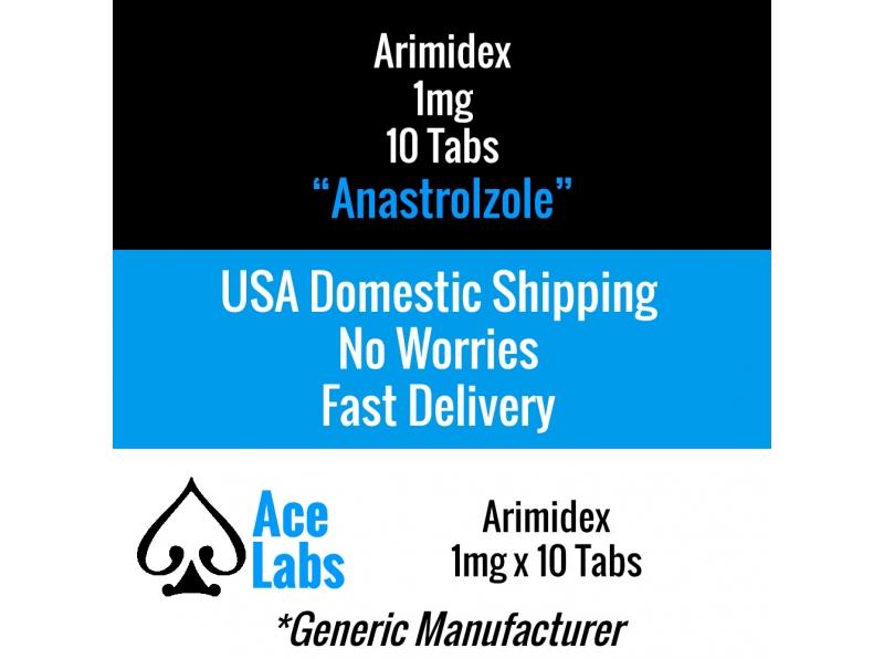 Arimidex 1mg x 10 Tabs (Anastrozole)
