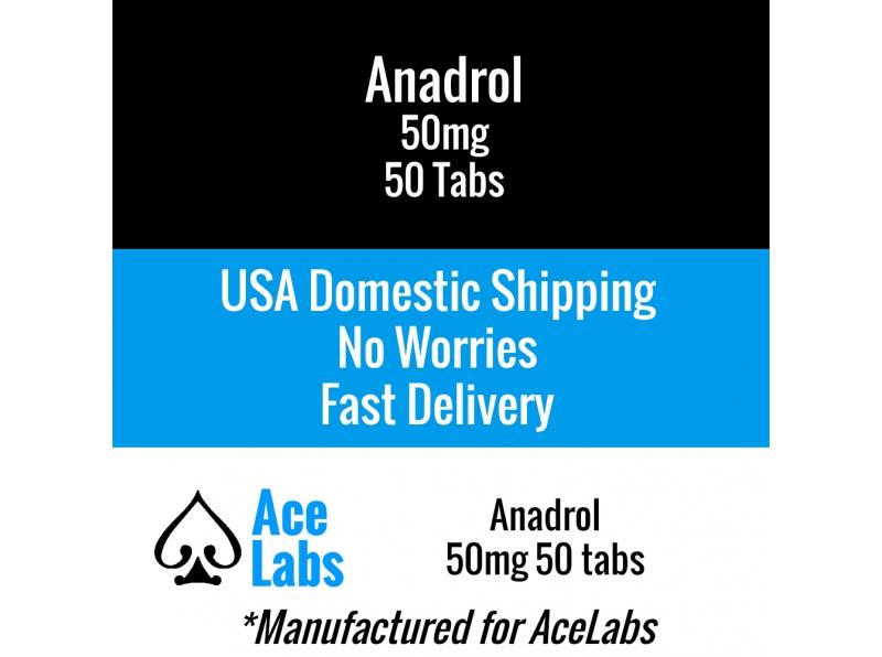 Anadrol 50mg 50 Tabs