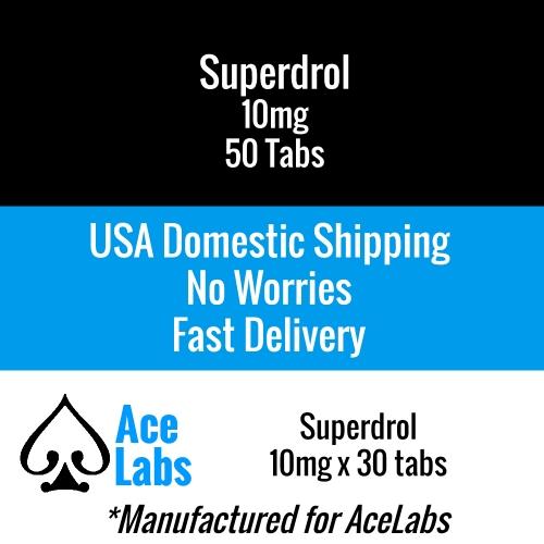 Superdrol 10mg 50 Tabs