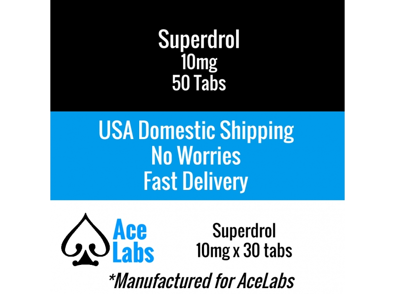 Superdrol 10mg 50 Tabs