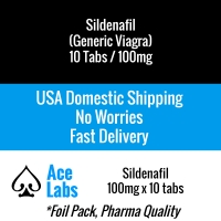 Sildenafil 100mg x 10 Tabs (Generic Viagra)