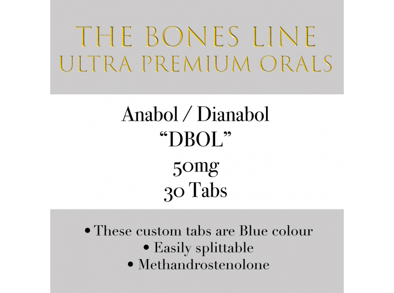 Anabol The Bones Line 30 Tabs 50mg