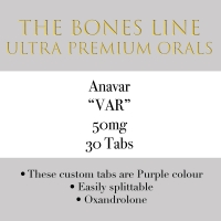 Anavar The Bones Line 50mg 30 Tabs
