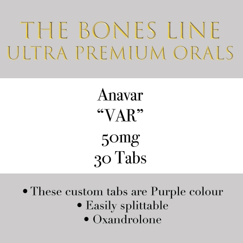 Anavar The Bones Line 50mg 30 Tabs
