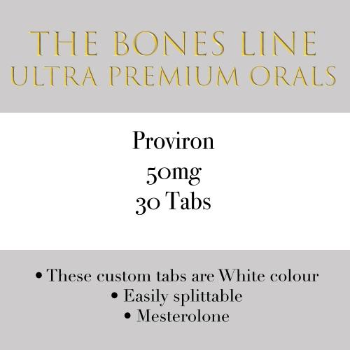 Proviron The Bones Line 50mg 30 Tabs