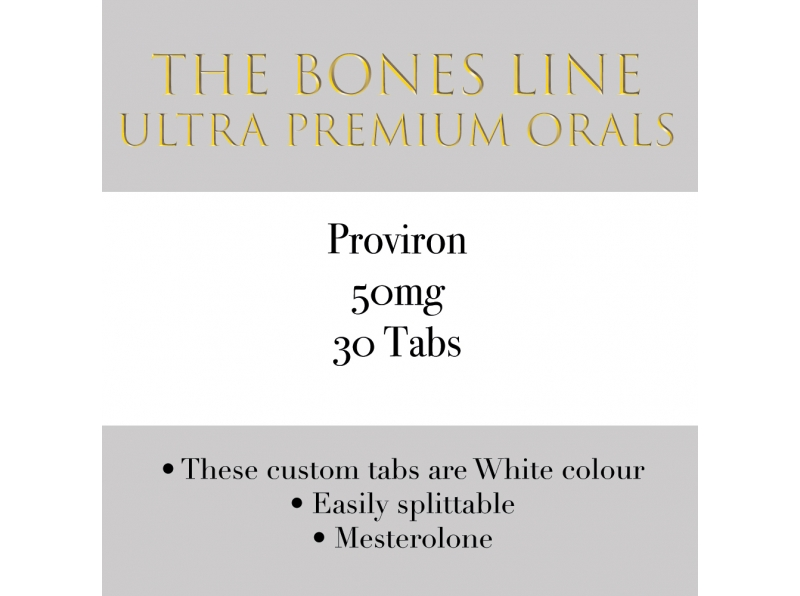 Proviron The Bones Line 50mg 30 Tabs