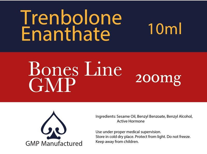 Trenbolone Enanthate GMP Bones Line 200mg 10ml