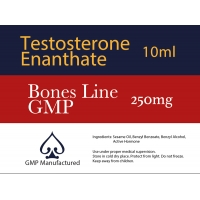 Testosterone Enanthate GMP Bones Line 250mg 10ml