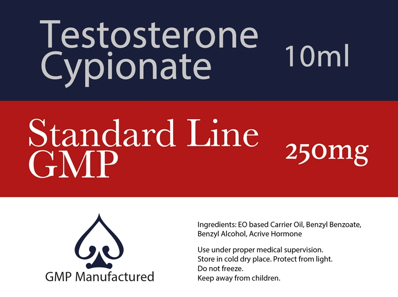 Testosterone Cypionate GMP Standard Line 250mg 10ml