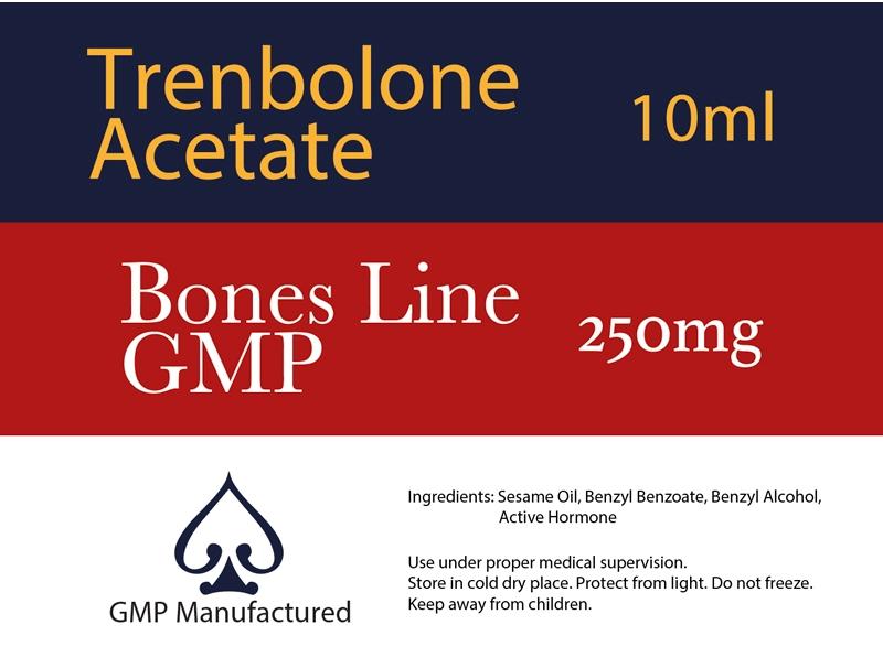 Trenbolone Acetate GMP Bones Line 100mg 10ml