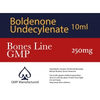 Boldenone Undecylenate EQ GMP Bones Line 250mg 10ml