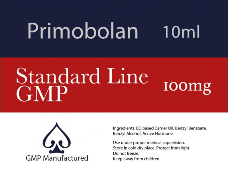 Primobolan GMP Standard Line 100mg 10ml