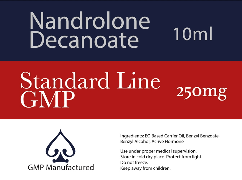 Nandrolone Decanoate GMP Standard Line 250mg 10ml