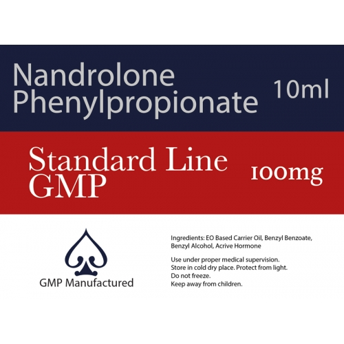 Nandrolone Phenylpropionate NPP GMP Standard Line 100mg 10ml