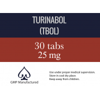 Turinabol - TBOL by AceLabs 25mg x 30 Tabs