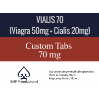 Vialis 70mg x 10 Tabs (You will love this)