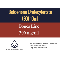 Boldenone Undecylenate EQ GMP Bones Line 300mg 10ml