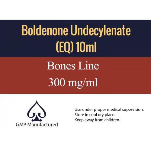 Boldenone Undecylenate EQ GMP Bones Line 300mg 10ml