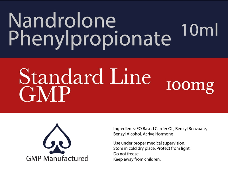 Nandrolone Phenylpropionate NPP GMP Standard Line 100mg 10ml