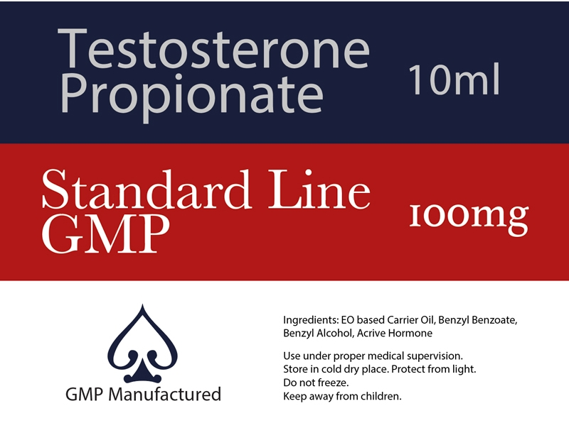 Test Propionate GMP Standard Line 100mg 10ml