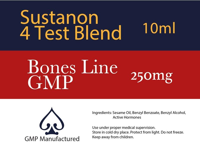 Sustanon GMP Bones Line 250mg 10ml