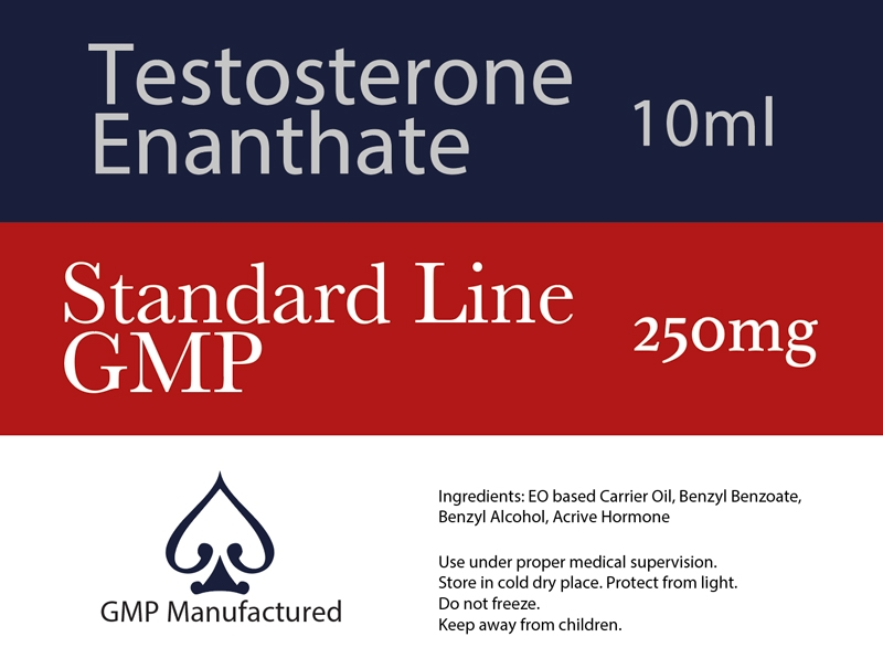 Testosterone Enanthate GMP Standard Line 250mg 10ml