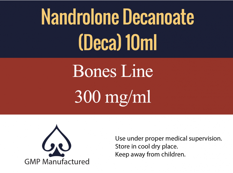 Nandrolone Decanoate GMP Bones Line 300mg 10ml
