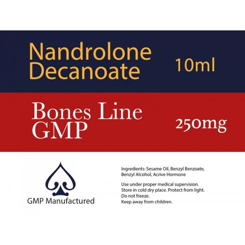 Nandrolone Decanoate GMP Bones Line 250mg 10ml