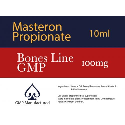 Masteron Propionate GMP Bones Line 100mg 10ml