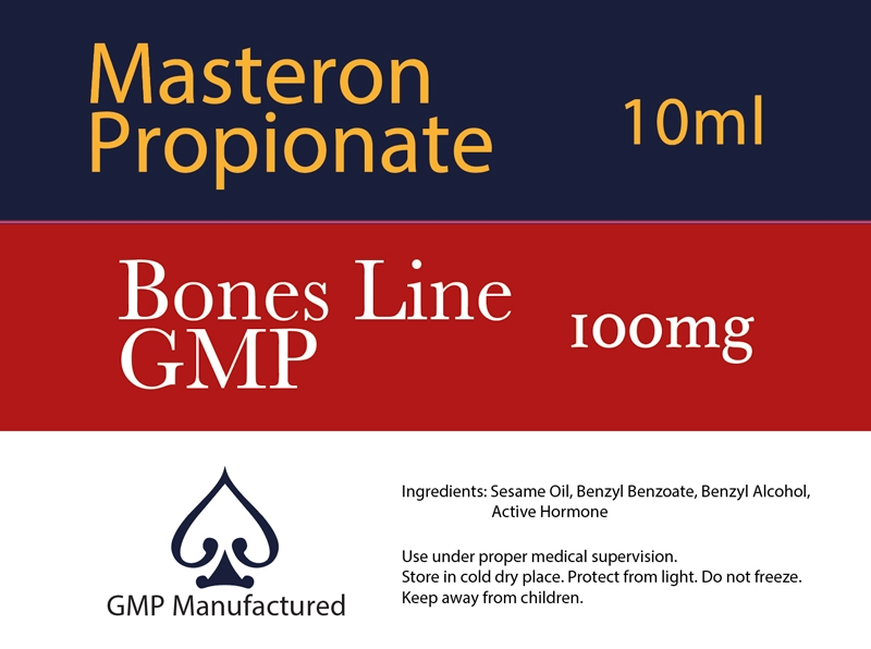 Masteron Propionate GMP Bones Line 100mg 10ml