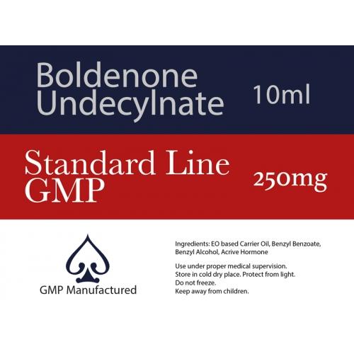 Boldenone Undecylenate EQ GMP Standard Line 250mg 10ml