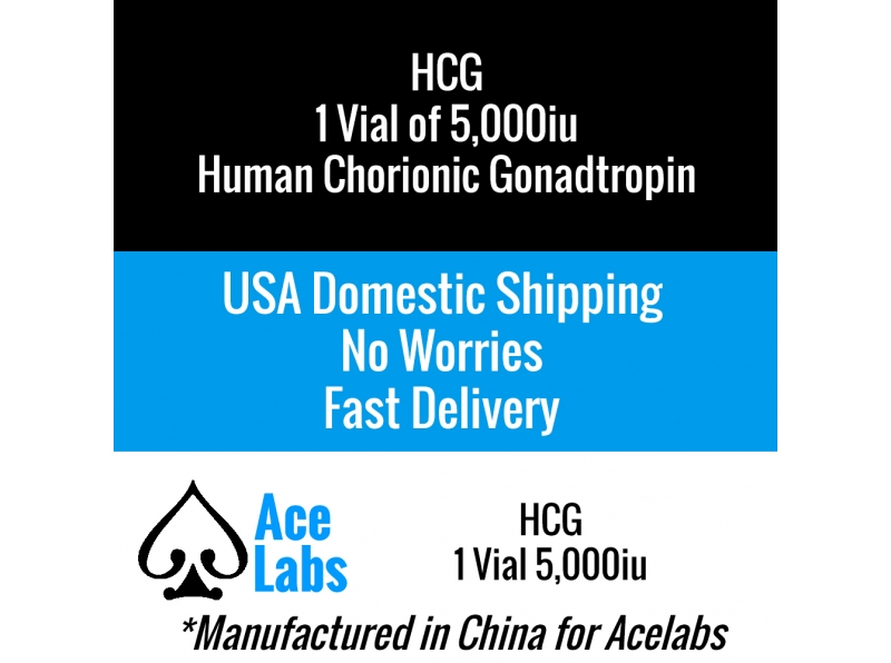 HCG (Human Chorionic Gonadotropin) 1 x 5,000iu Vial
