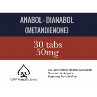 Anabol - Dianabol by AceLabs 50mg x 30 Tabs